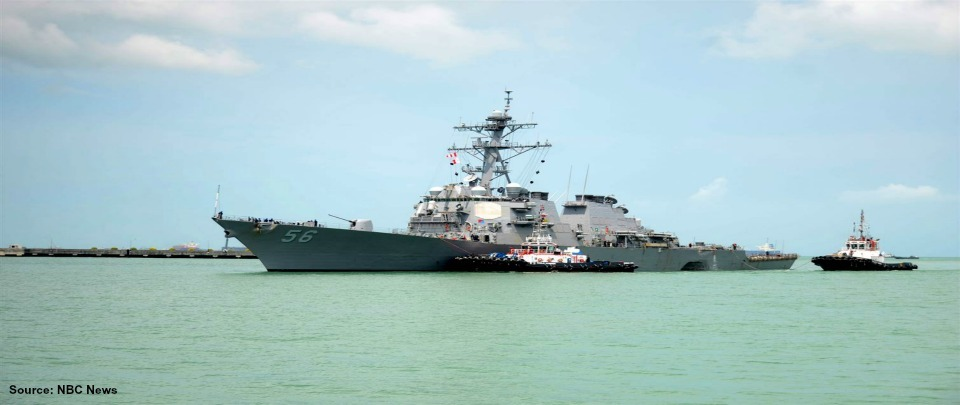 USS John McCain - Troubled Waters Ahead?