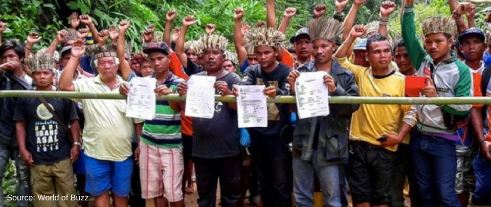 Durian 'Thugs' vs Orang Asli