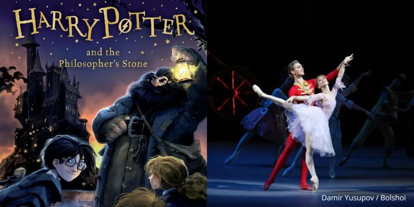 #stayathome with Harry Potter & The Nutcracker