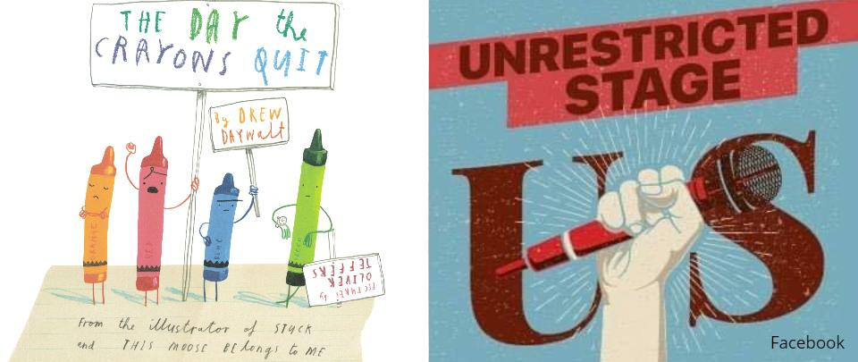 #stayathome with Oliver Jeffers & The Unrestricted Stage