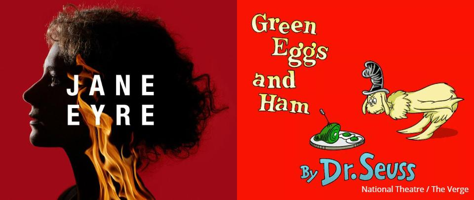 #stayathome with Jane Eyre & Dr Seuss (and Dr Dre!)