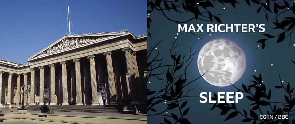 #stayathome with the British Museum & Max Richter