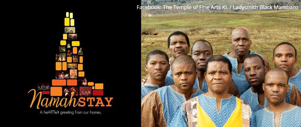 #stayathome with NamahSTAY & Ladysmith Black Mambazo