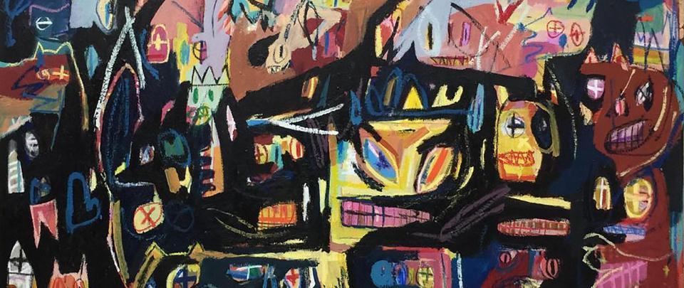 Conversing with Basquiat through Art