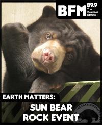 Sun Bear Conservation & the Rockin' 4 the Environment: Sun Bear Rock event