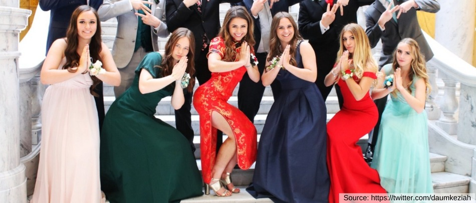 American Girl Wears Cheongsam to Prom. Internet Sees Red