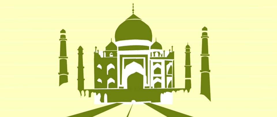 The Taj Mahal Turns Green and Brown