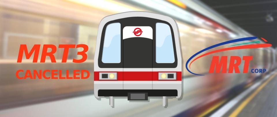 MRT3 Sent for Scrap