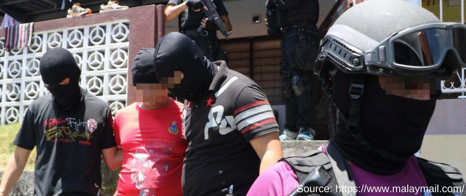 15 Terror Suspects Caught