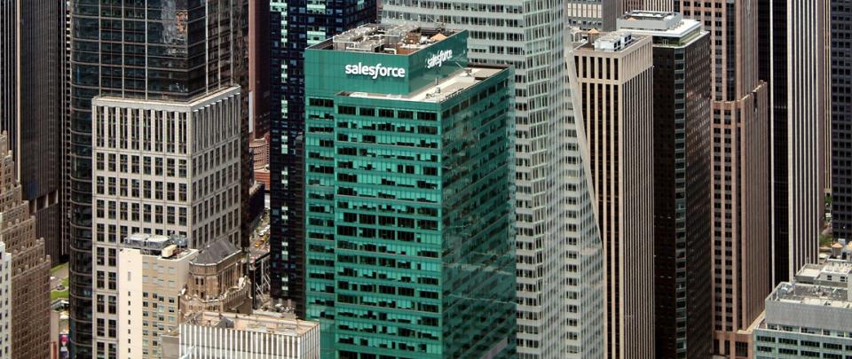 Can Salesforce Take On Microsoft?