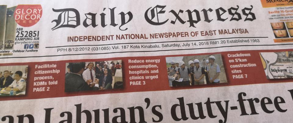 The Heritage Paper Championing Sabahan Stories