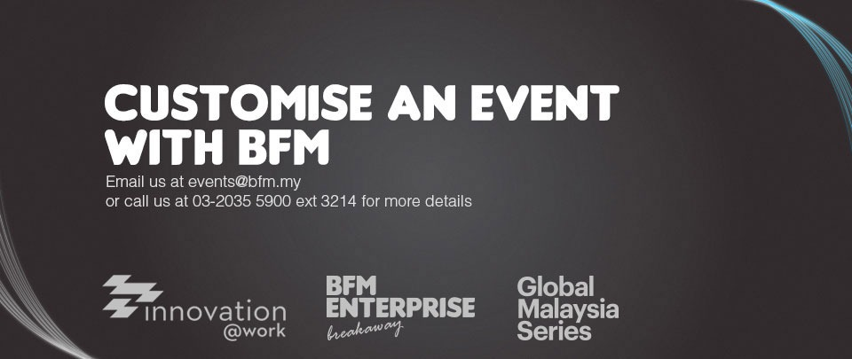 Customise an event with BFM
