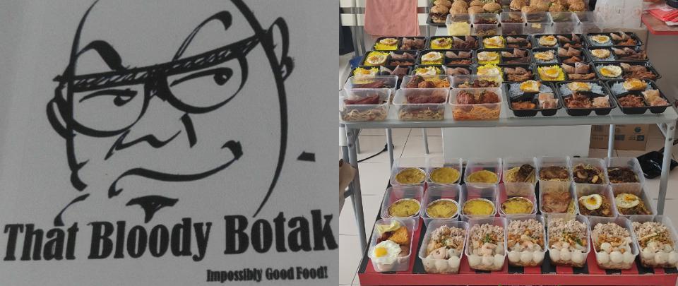 That Bloody Botak Distributes Food to the Needy